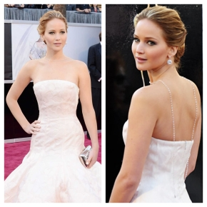 Business in the Front, Party in the Back? Oscars Best (& Worst) Dressed2013