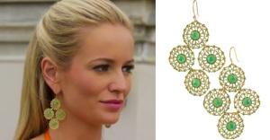 'Bachelorette' Emily Maynard wearing S&D 'Garden Party' Earrings