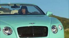 Turquoise Bentley